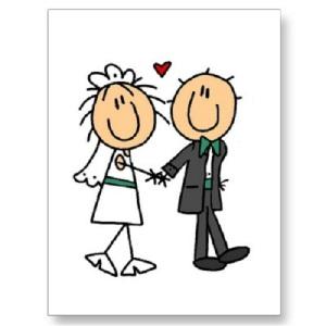 Cartoon-Bride-and-Groom-Clipart