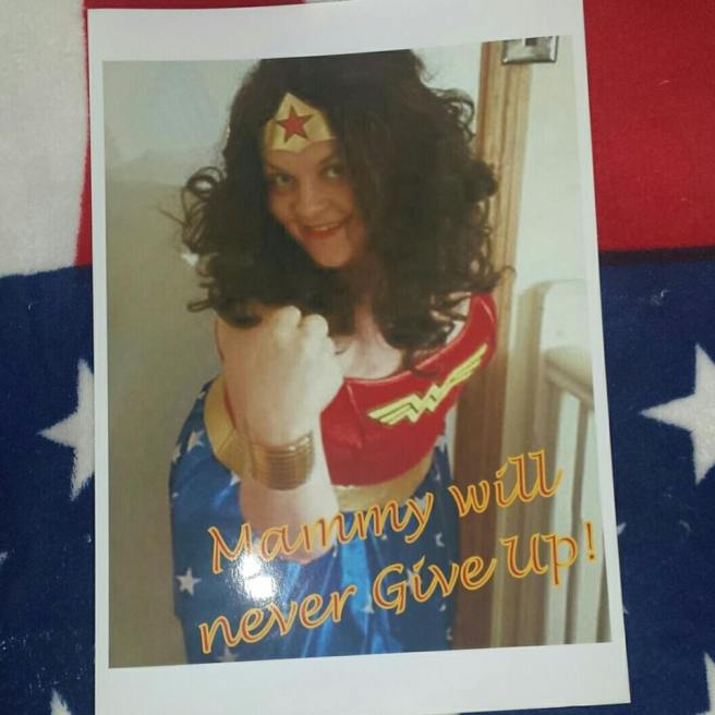 sarah mammy wonder woman
