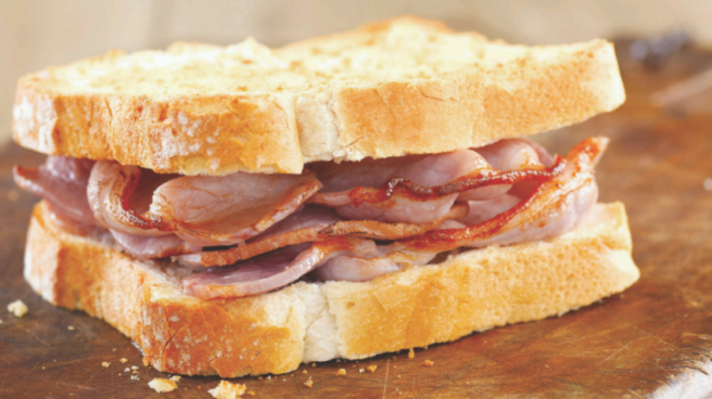 rasher sandwich